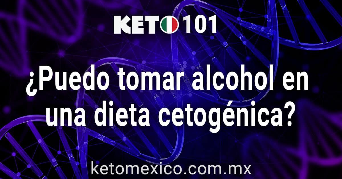 Puedo tomar alcohol en una dieta cetogenica?