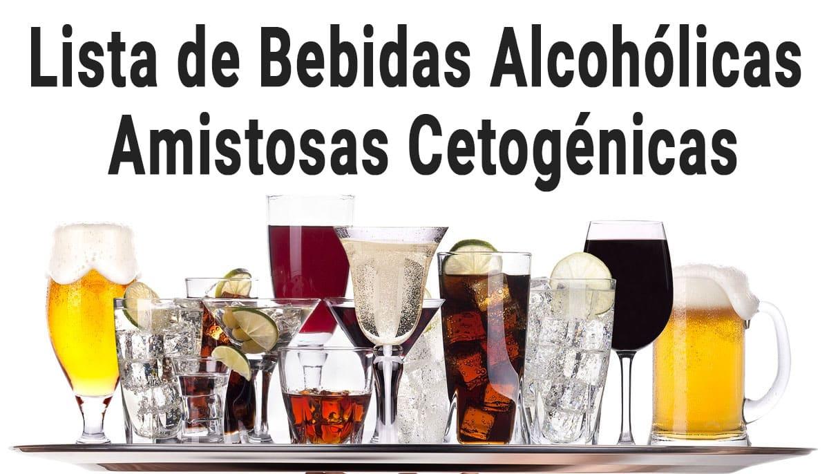 alcohólico cetogénica amigable
