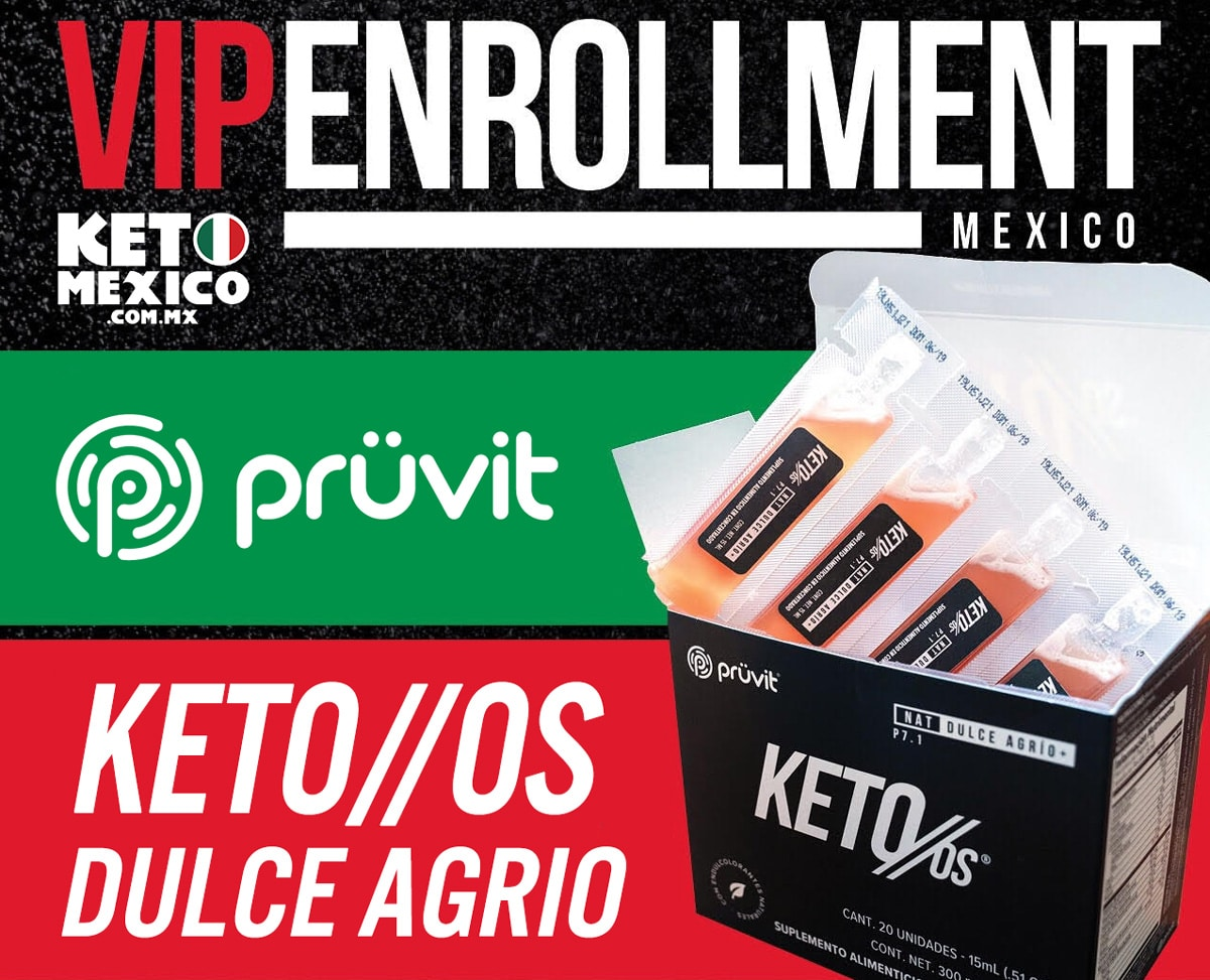 Pruvit Mexico Inscripcion vip