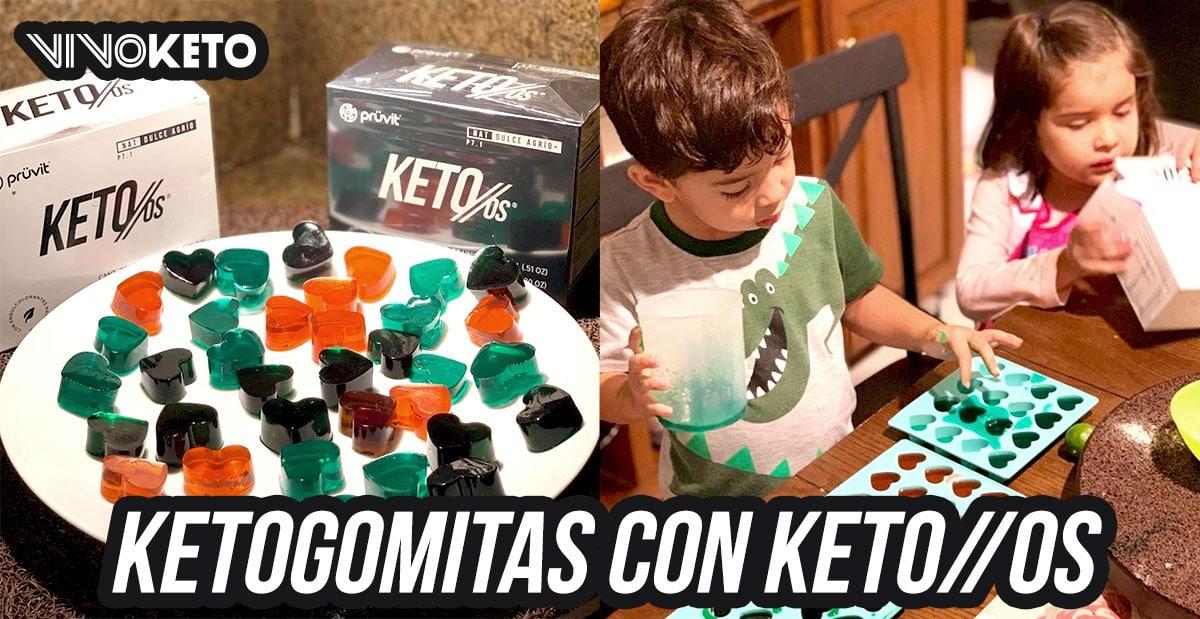 Gomitas Agridulces Receta Keto OS